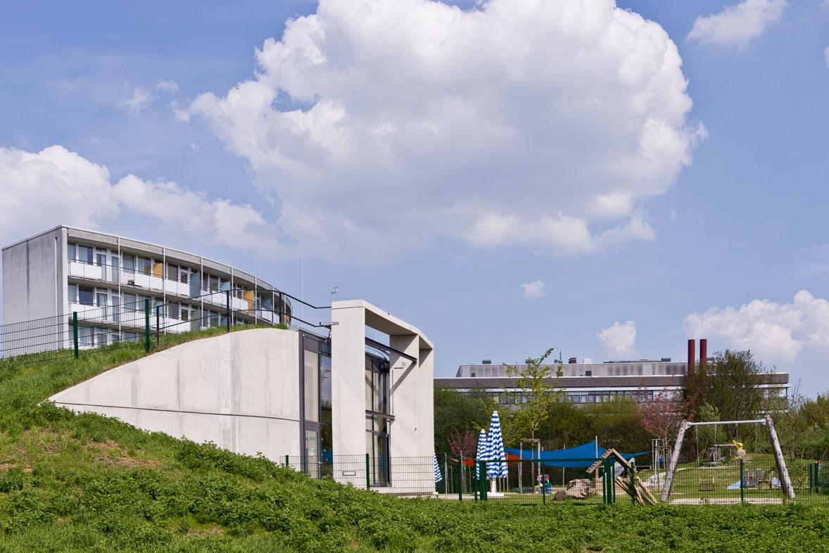 Campus der Nord-Uni in Weende KiTa und Wohnheim